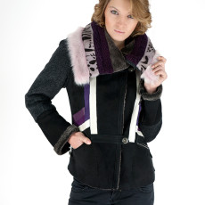 OLIMPIA giacca shearling